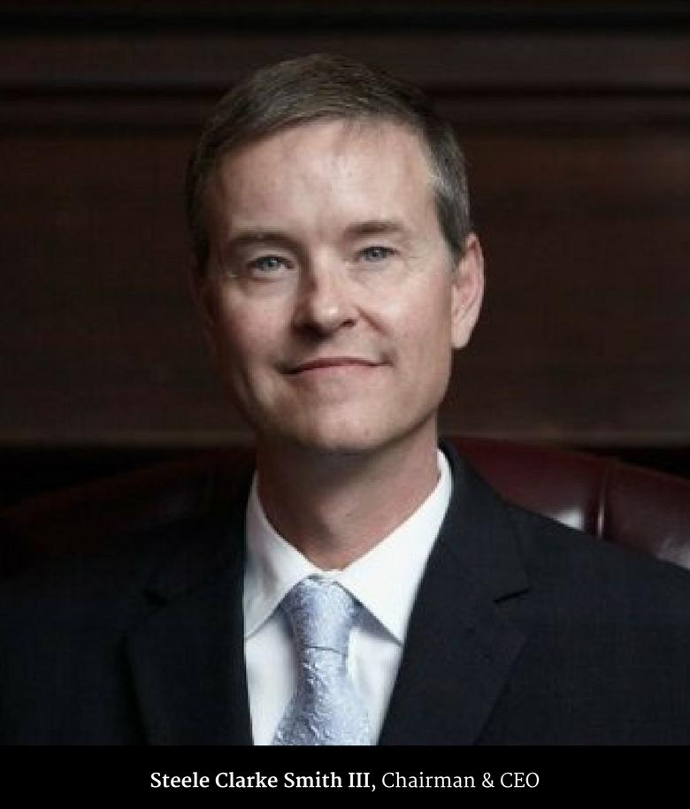 Steele Clarke Smith III, Chairman & CEO